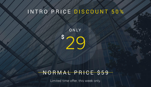 BuildPro Discount - Business, Building & Construction WordPress Theme